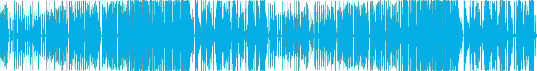 人気の無いバーでひっそり演奏されるよう…の再生済みの波形