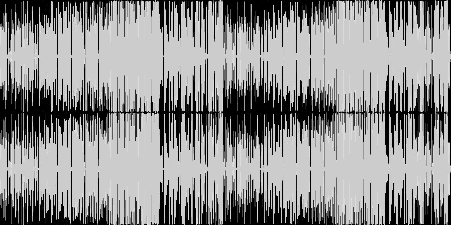 人気の無いバーでひっそり演奏されるよう…の未再生の波形