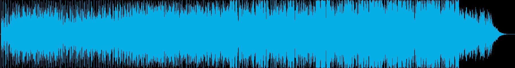 近未来的サウンドの再生済みの波形