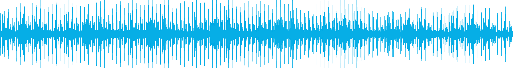 おしゃれでゆるいジャズの再生済みの波形