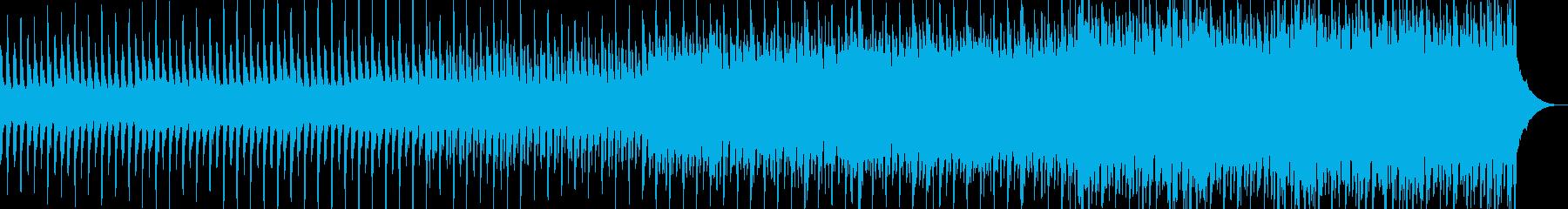 スパイ映画のオープニング風オーケストラ曲の再生済みの波形
