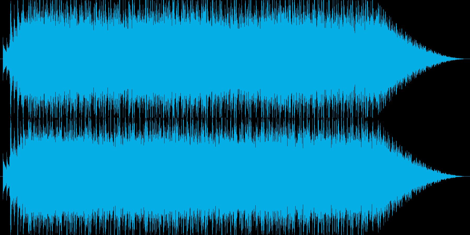明るく元気で激しいノリノリなポップロックの再生済みの波形