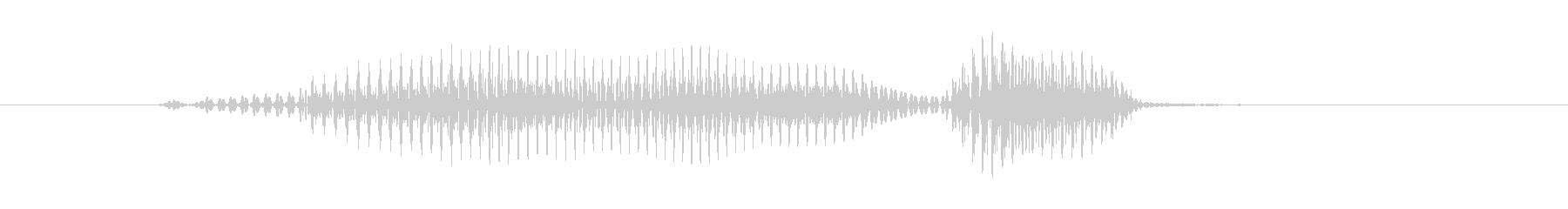 マウンドの未再生の波形