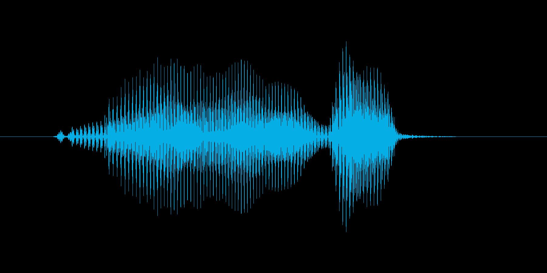 マウンドの再生済みの波形