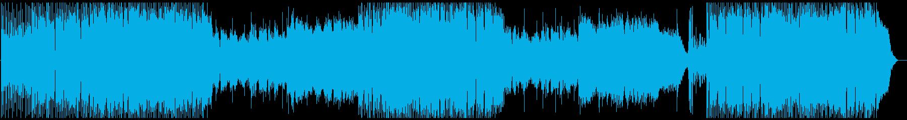 和風フュージョンの再生済みの波形