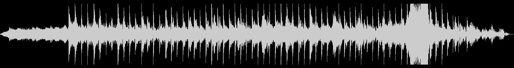 幻想的ギターエレクトロニカアンビエントの未再生の波形