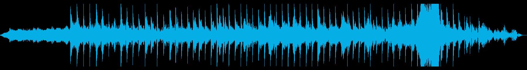 幻想的ギターエレクトロニカアンビエントの再生済みの波形