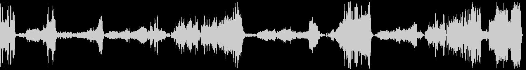 『こうもり』 序曲の未再生の波形