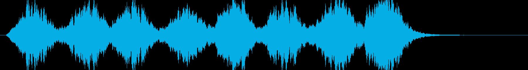 BGM11の再生済みの波形
