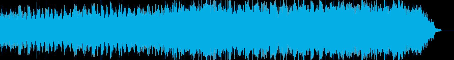 優しく感動的なピアノ+オケ③合唱ホルン抜の再生済みの波形