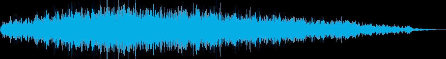 イオンエンジンパワーアップテキスト...の再生済みの波形