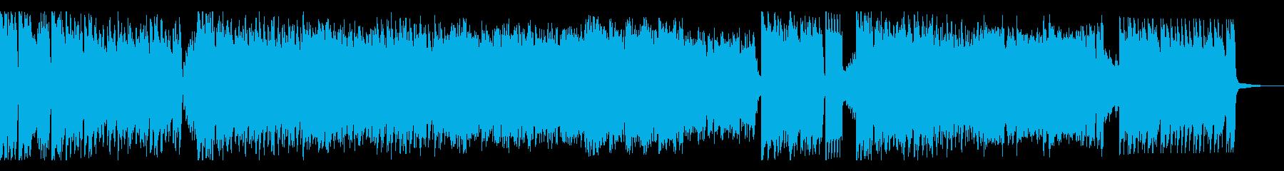 大人っぽくてノリのいいフルート曲の再生済みの波形