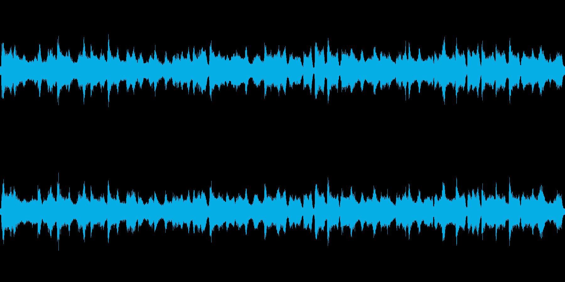 海洋波10分間ループ可能の再生済みの波形