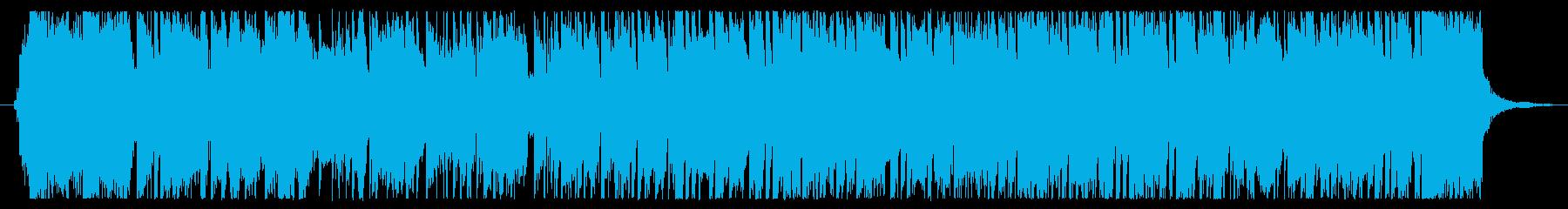 ニュースやバラエティ番組のOP楽曲の再生済みの波形