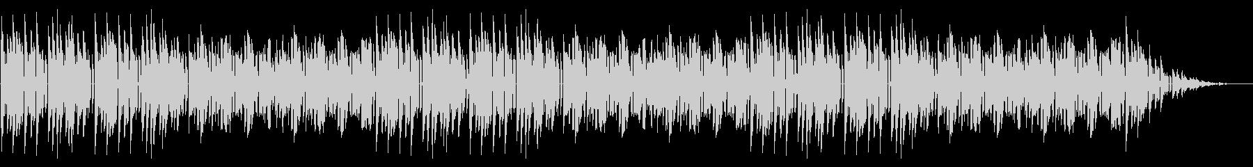 GB風東洋ボードゲームのタイトル曲の未再生の波形