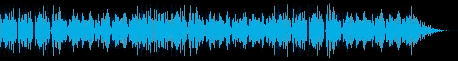 GB風東洋ボードゲームのタイトル曲の再生済みの波形