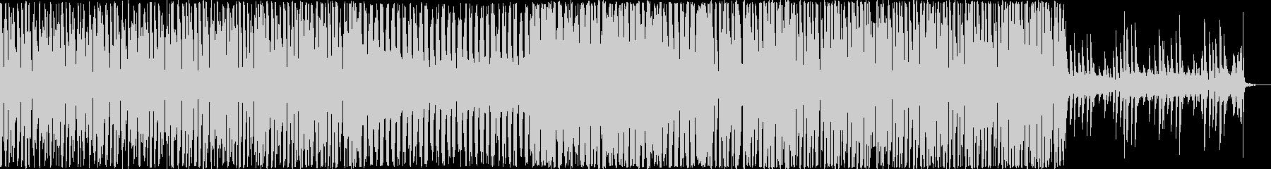 かわいい・ワクワクな印象のエレクトロニカの未再生の波形
