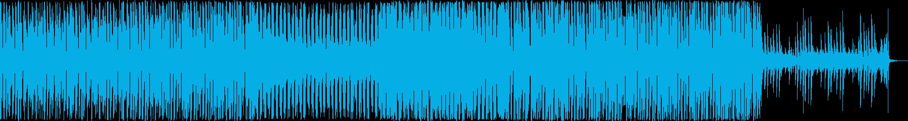 かわいい・ワクワクな印象のエレクトロニカの再生済みの波形