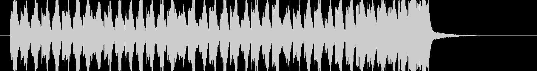 煽りEDM アイネクライネ ショート1の未再生の波形