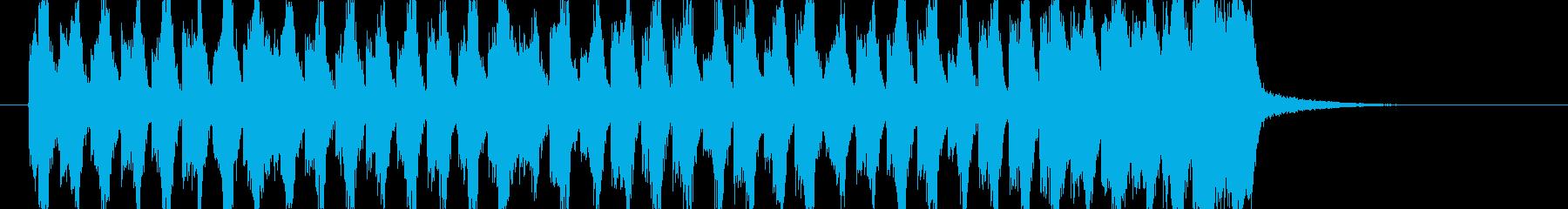 煽りEDM アイネクライネ ショート1の再生済みの波形