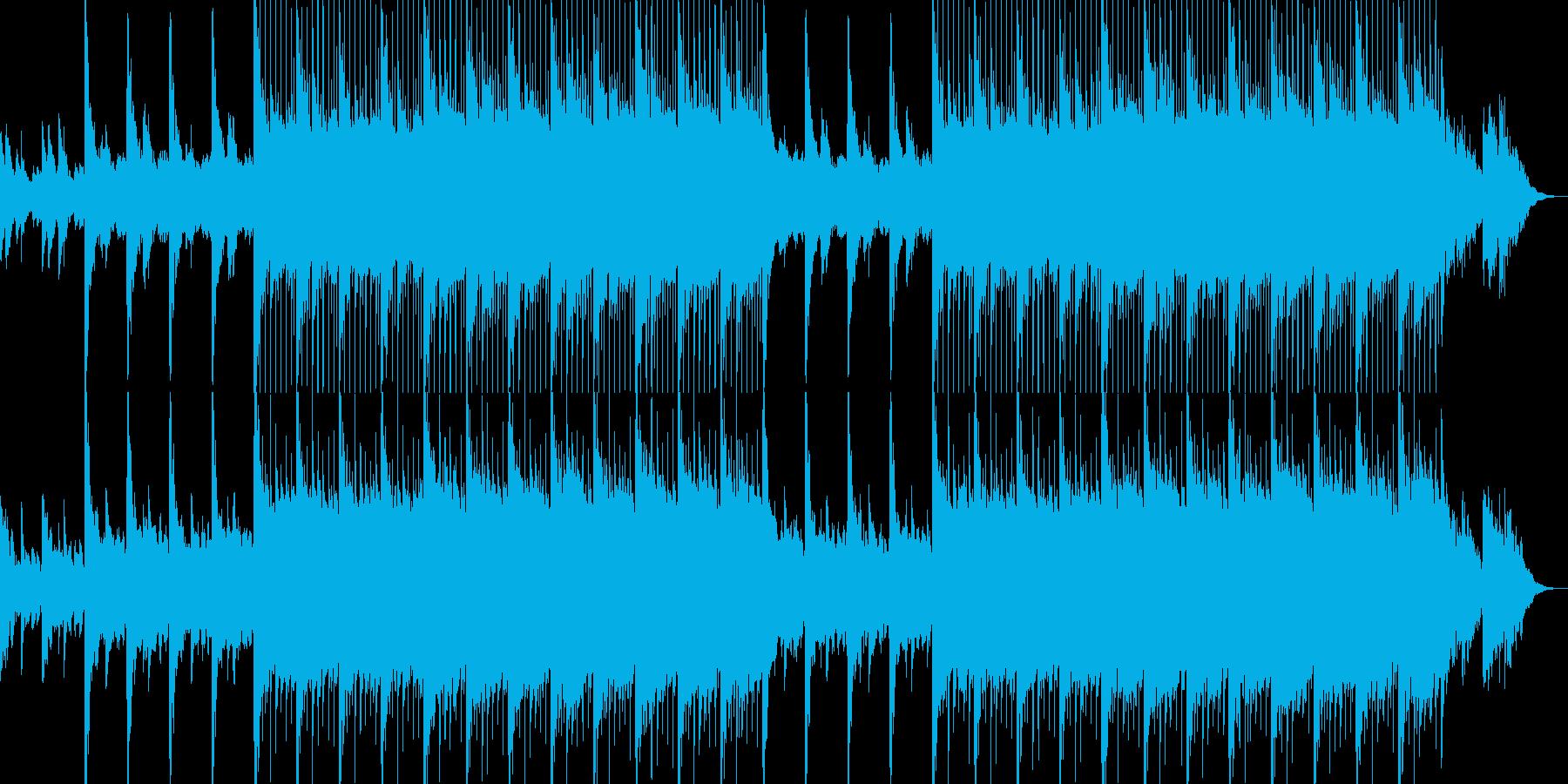 ゆったり癒し系の爽やかポップス-06の再生済みの波形