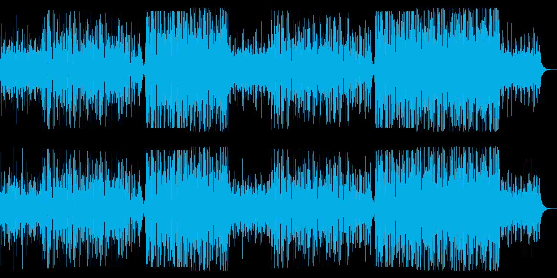 洋楽っぽい女性ボーカルのトロピカルハウスの再生済みの波形