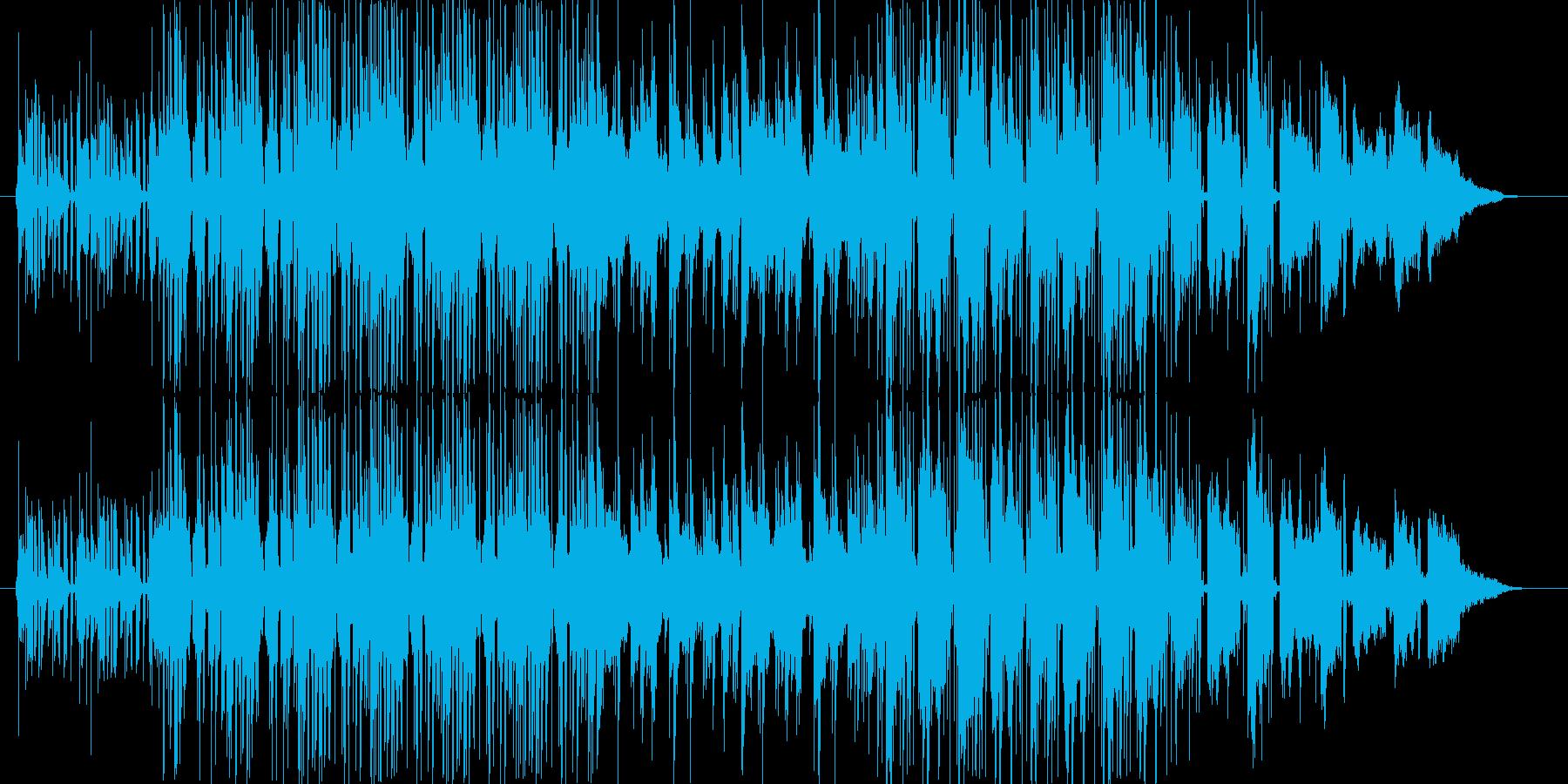 イージーリスニング的なスムースジャズ楽…の再生済みの波形