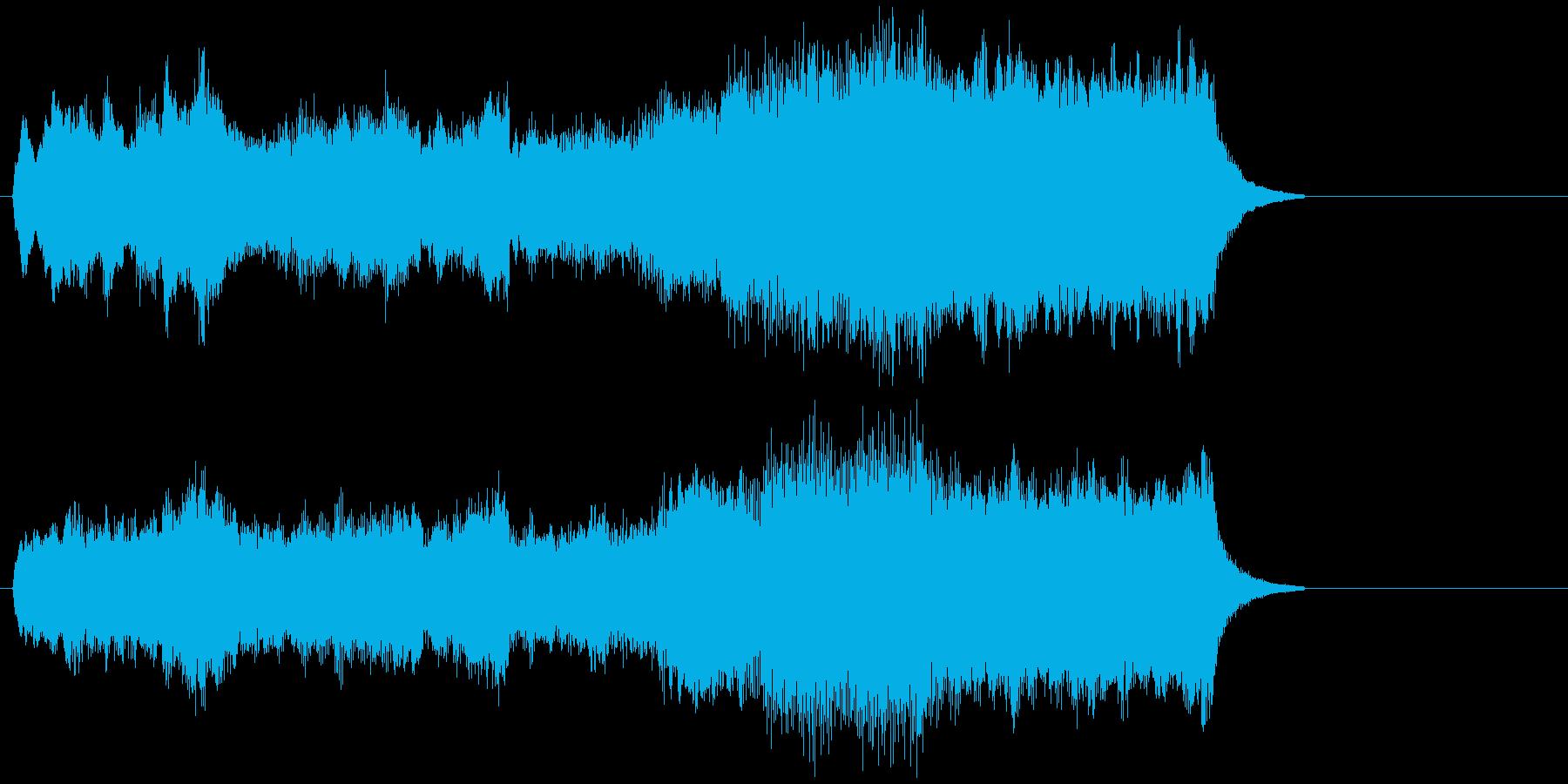 エレクトーンによる荘厳なショートバラードの再生済みの波形