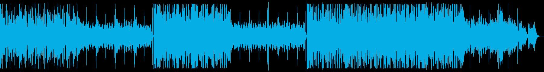 開放感溢れるチルエレクトロの再生済みの波形