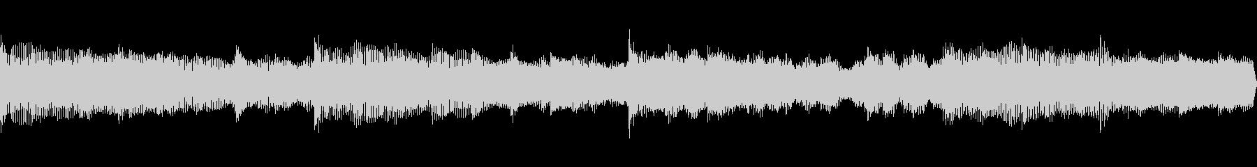 不穏な雰囲気のBGM(ループ仕様)の未再生の波形