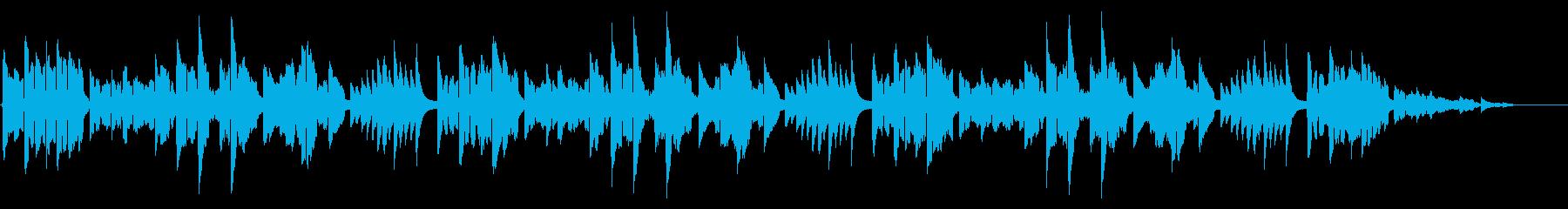 フルート生演奏 童謡「うれしいひなまつりの再生済みの波形