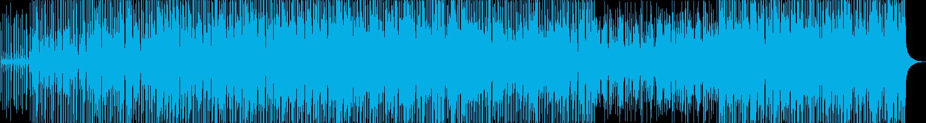 口笛メイン軽快なバンドサウンドの再生済みの波形