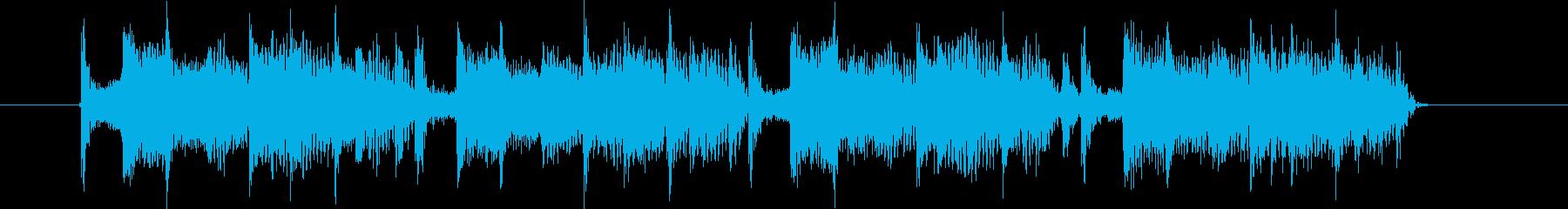 Hip-hop track jingles's reproduced waveform