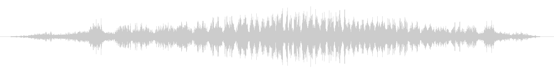 シュワーッ(疾走感のある効果音)の未再生の波形