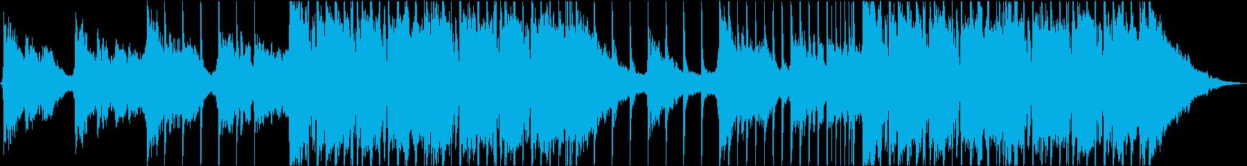 巨大なハードアメリカンロックの再生済みの波形