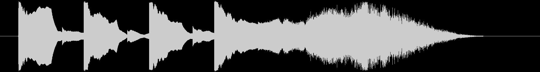 スタートシグナル2の未再生の波形