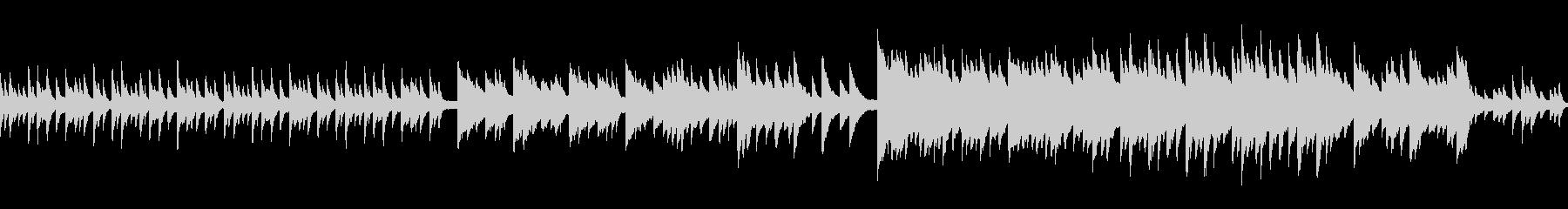 ループ 和を感じる切ないピアノソロの未再生の波形