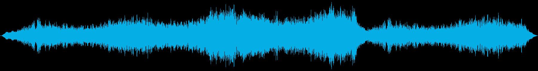 惑星的なスケール感のあるBGSの再生済みの波形