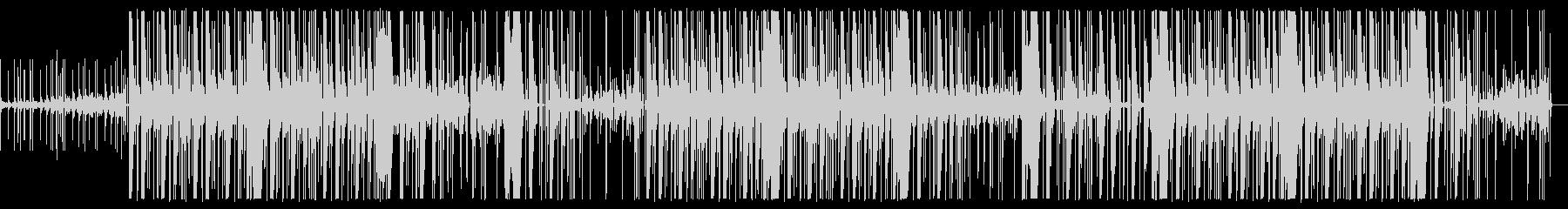 ダークで怪しいヒップホップ・トラップの未再生の波形