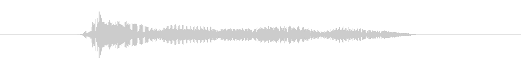 モグモグの未再生の波形