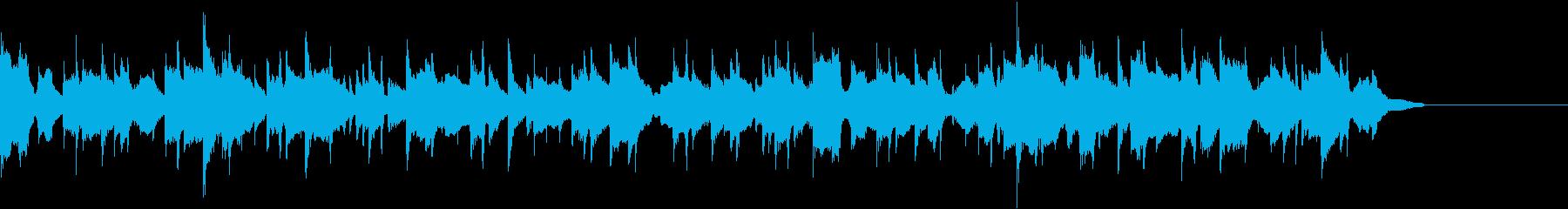 アップテンポの再生済みの波形