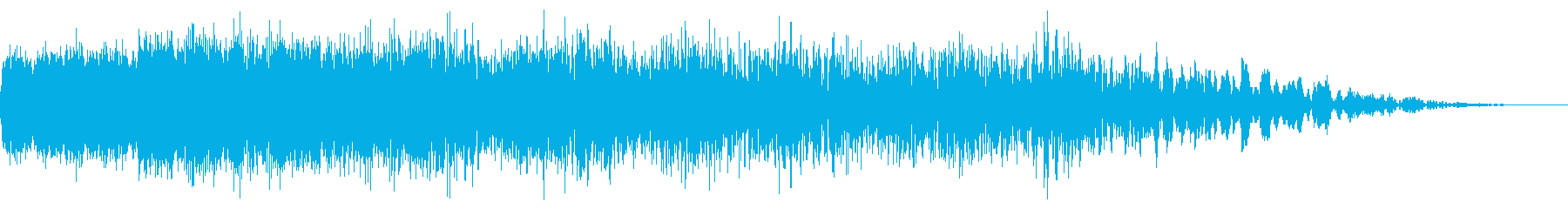 機械ダウン、壊れるA05の再生済みの波形