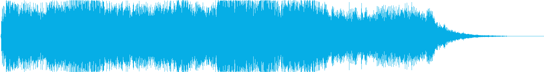 Magnificent short jingle of the orchestra's reproduced waveform
