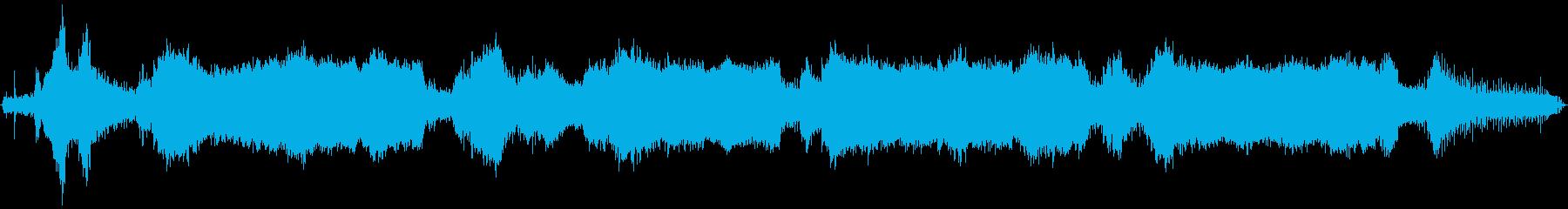 小さなガスチェーンソー:開始、大き...の再生済みの波形