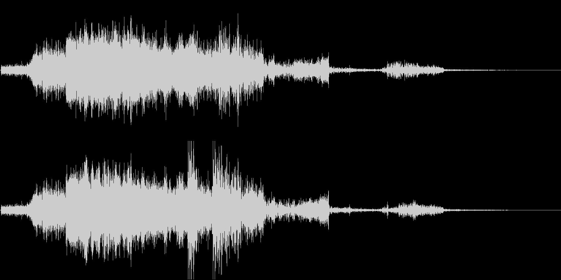 FMラジオ的ジングル1の未再生の波形