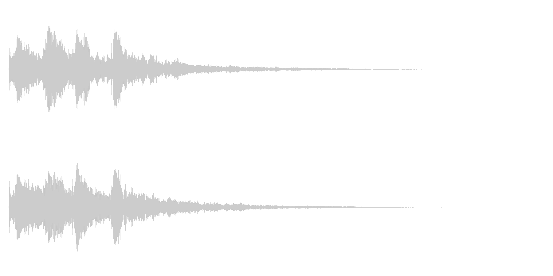 サウンドロゴ(企業ロゴ)_005の未再生の波形