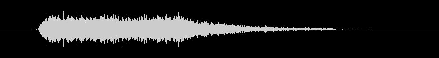 工具_ドリルの動作音3の未再生の波形