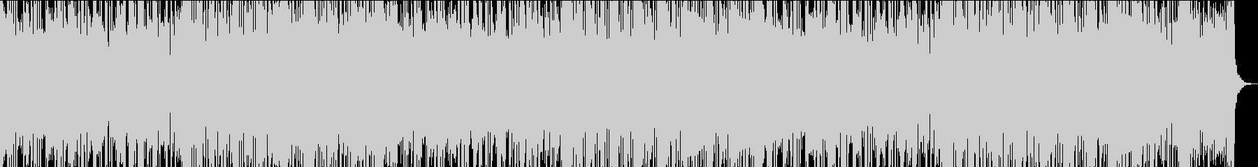 30秒でサビ、電子音さわやか/カラオケの未再生の波形