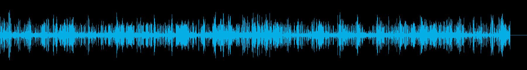 静的;ヘッドフォンスタティッククリ...の再生済みの波形