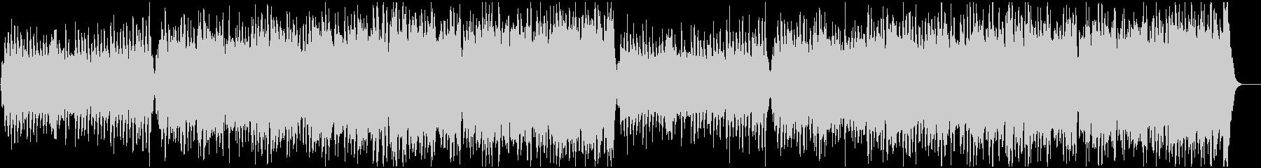 フルストリングスと木管によるワルツの未再生の波形